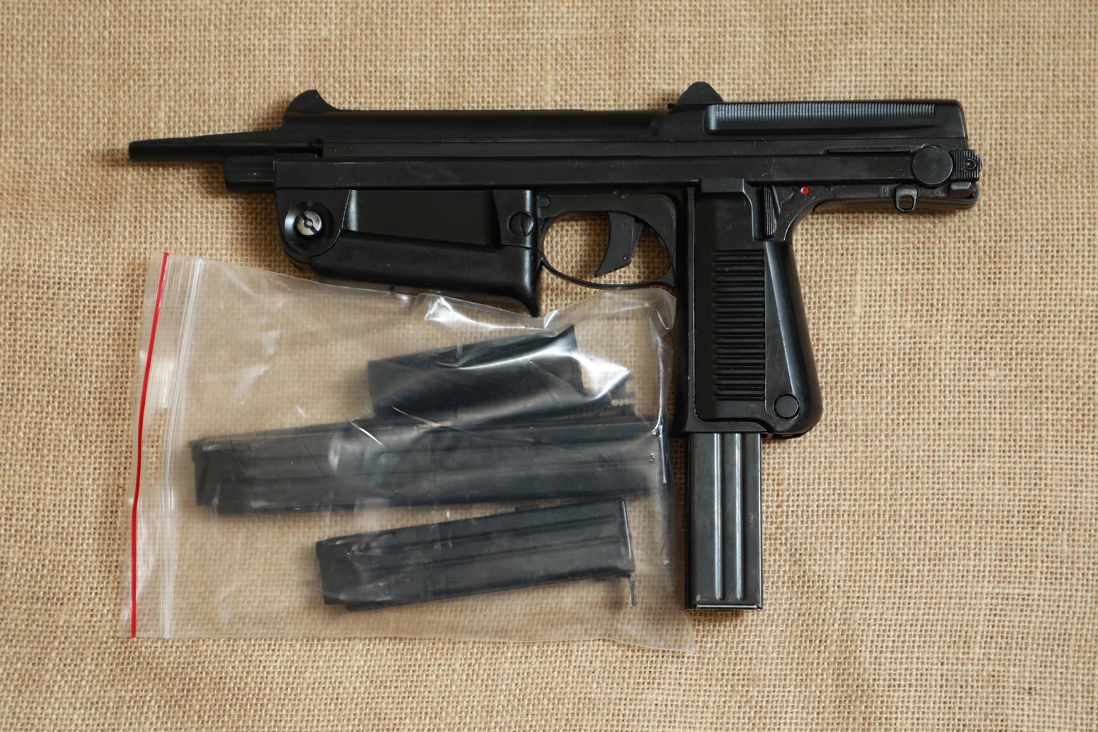 Охолощенный пистолет-пулемет RAK-63 #ST 03463 1971 год, 1 категория