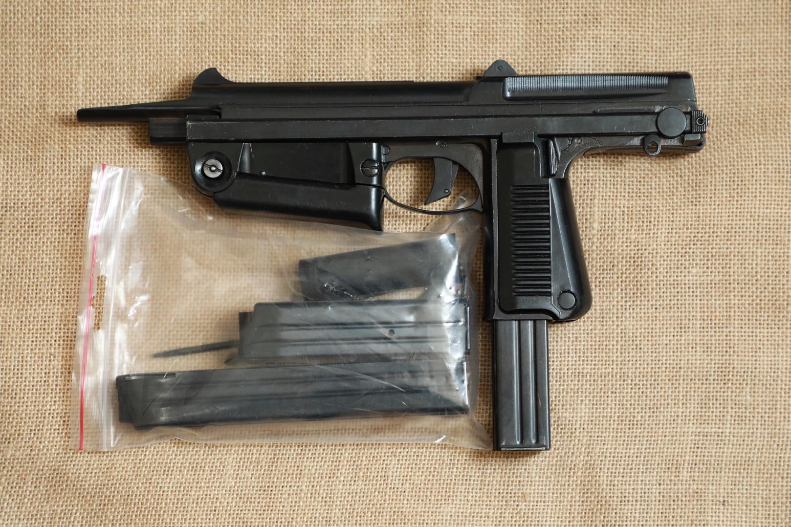 Фото Охолощенный пистолет-пулемет RAK-63 #МS 4417 1975 год, 1 категория