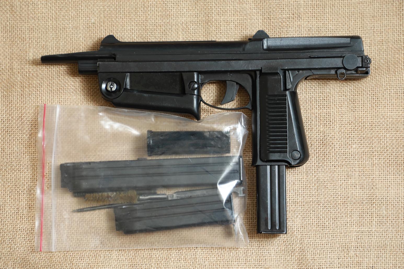Фото Охолощенный пистолет-пулемет RAK-63 #AM 12561 1969 год, 1 категория