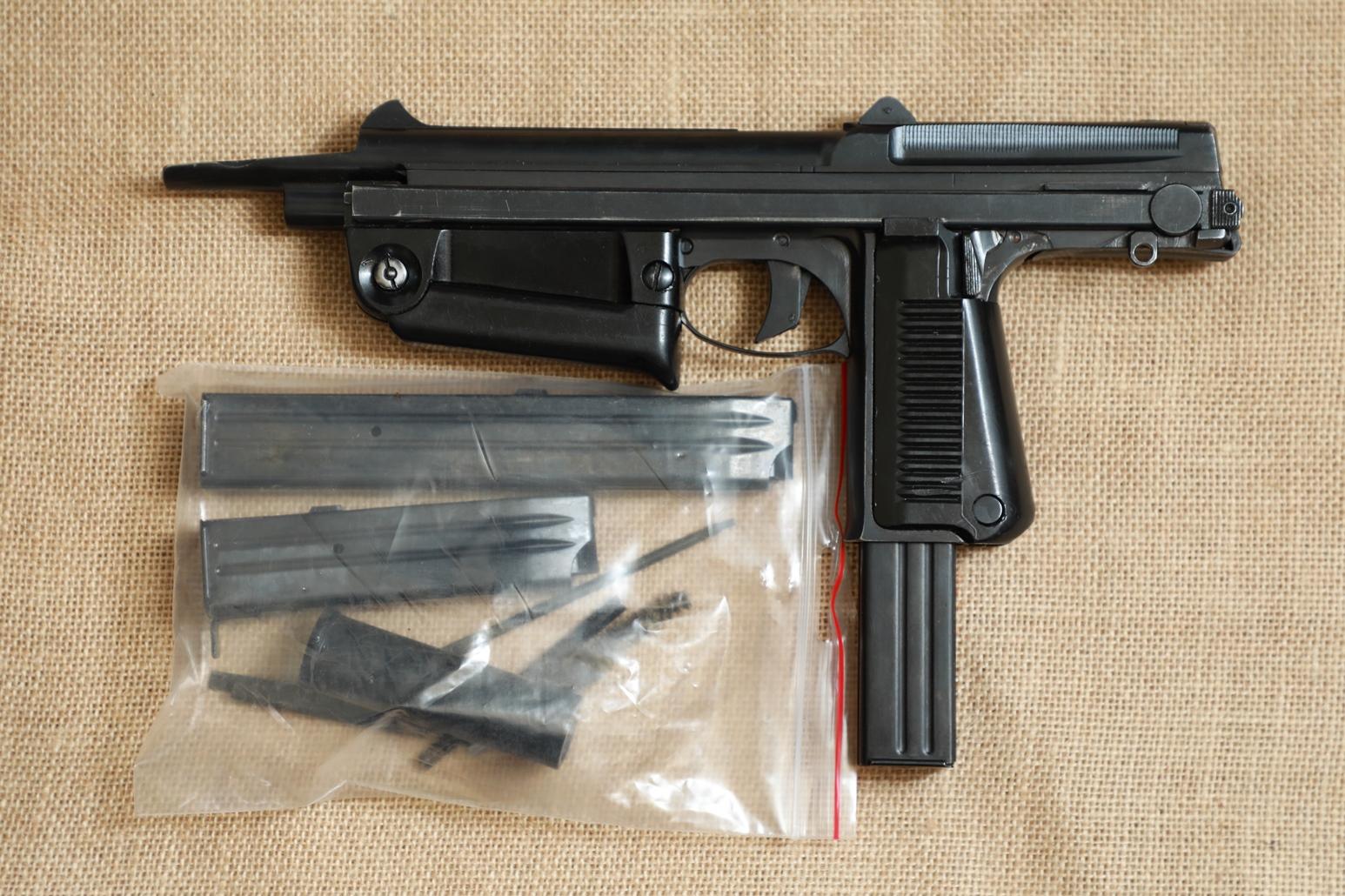 Фото Охолощенный пистолет-пулемет RAK-63 #WR 2773 1972 год, 1 категория
