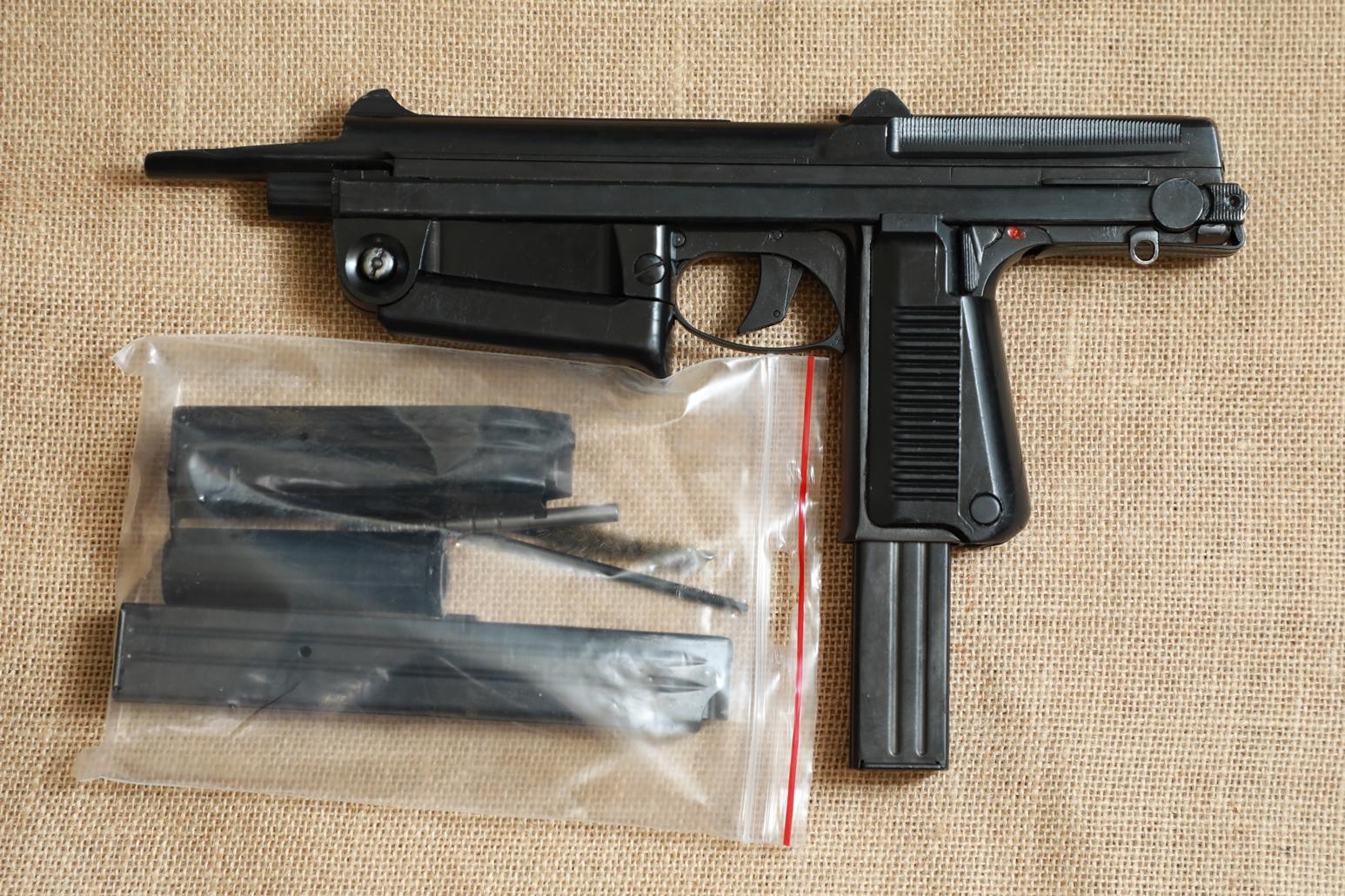Охолощенный пистолет-пулемет RAK-63 #AM 11353 1969 год, 1 категория
