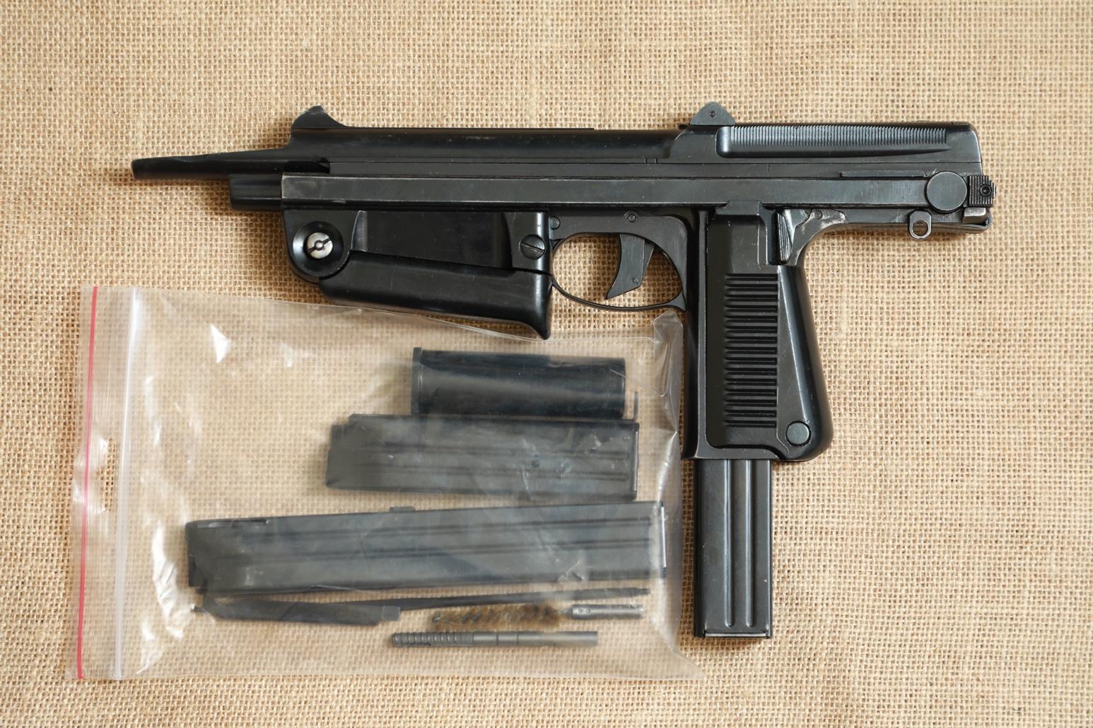 Охолощенный пистолет-пулемет RAK-63 #BM 02947 1971 год, 1 категория