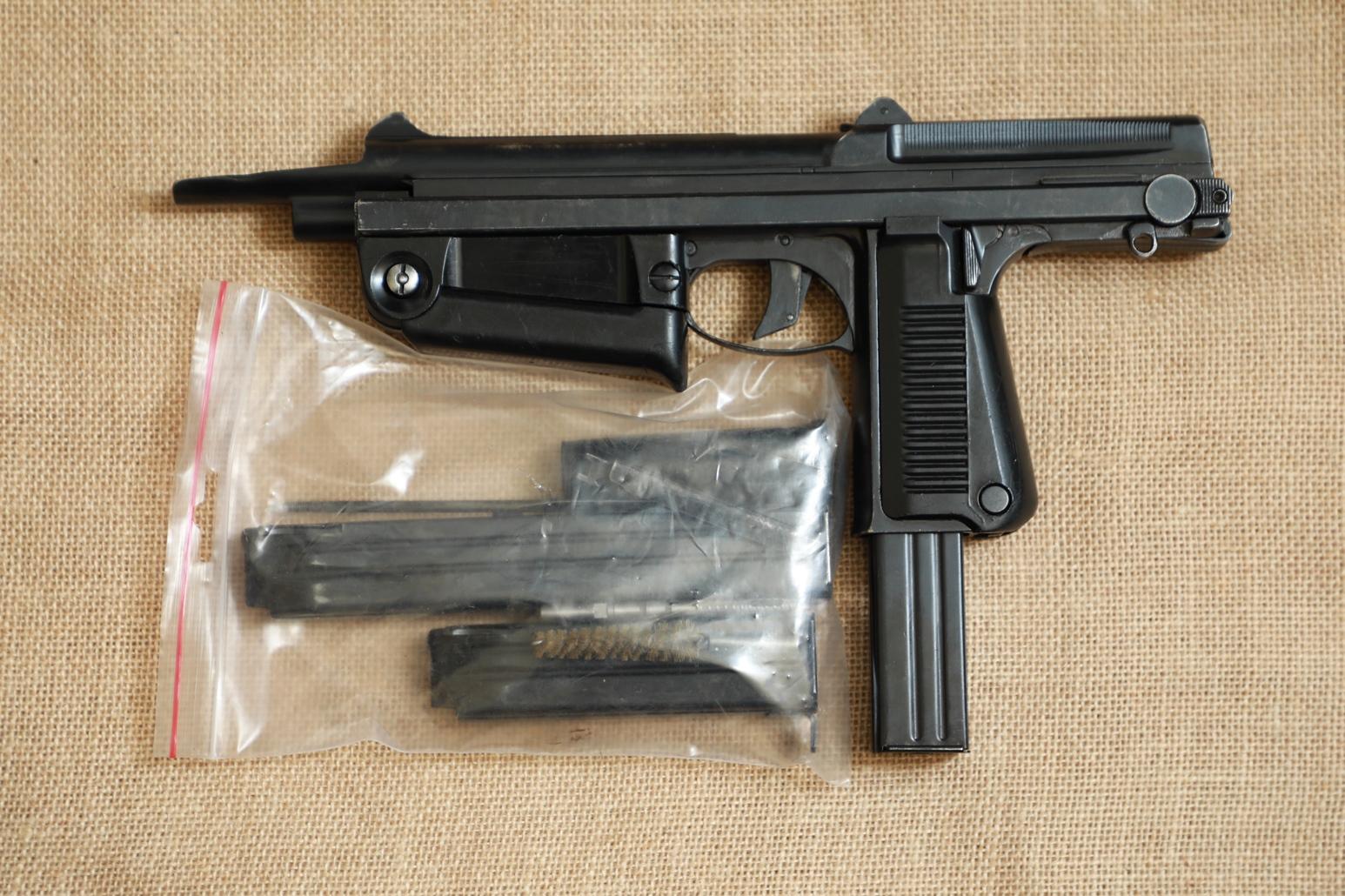 Охолощенный пистолет-пулемет RAK-63 #WR 3572 1972 год, 1 категория