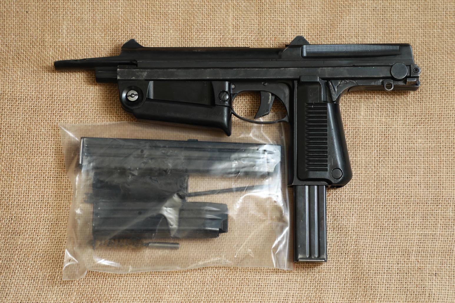 Фото Охолощенный пистолет-пулемет RAK-63 #BM 02201 1971 год, 1 категория