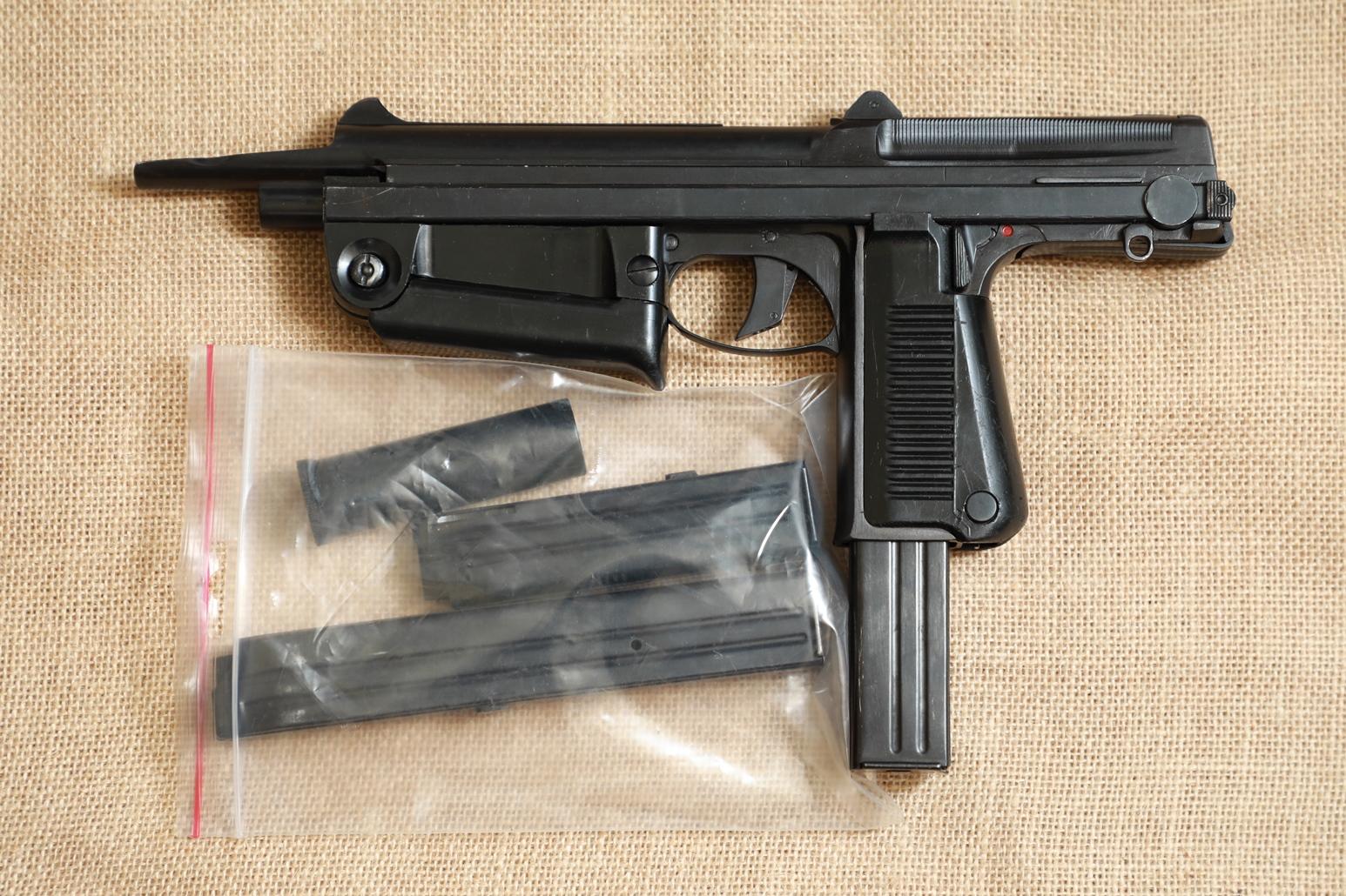 Охолощенный пистолет-пулемет RAK-63 #АМ 06471 1969 год, 1 категория