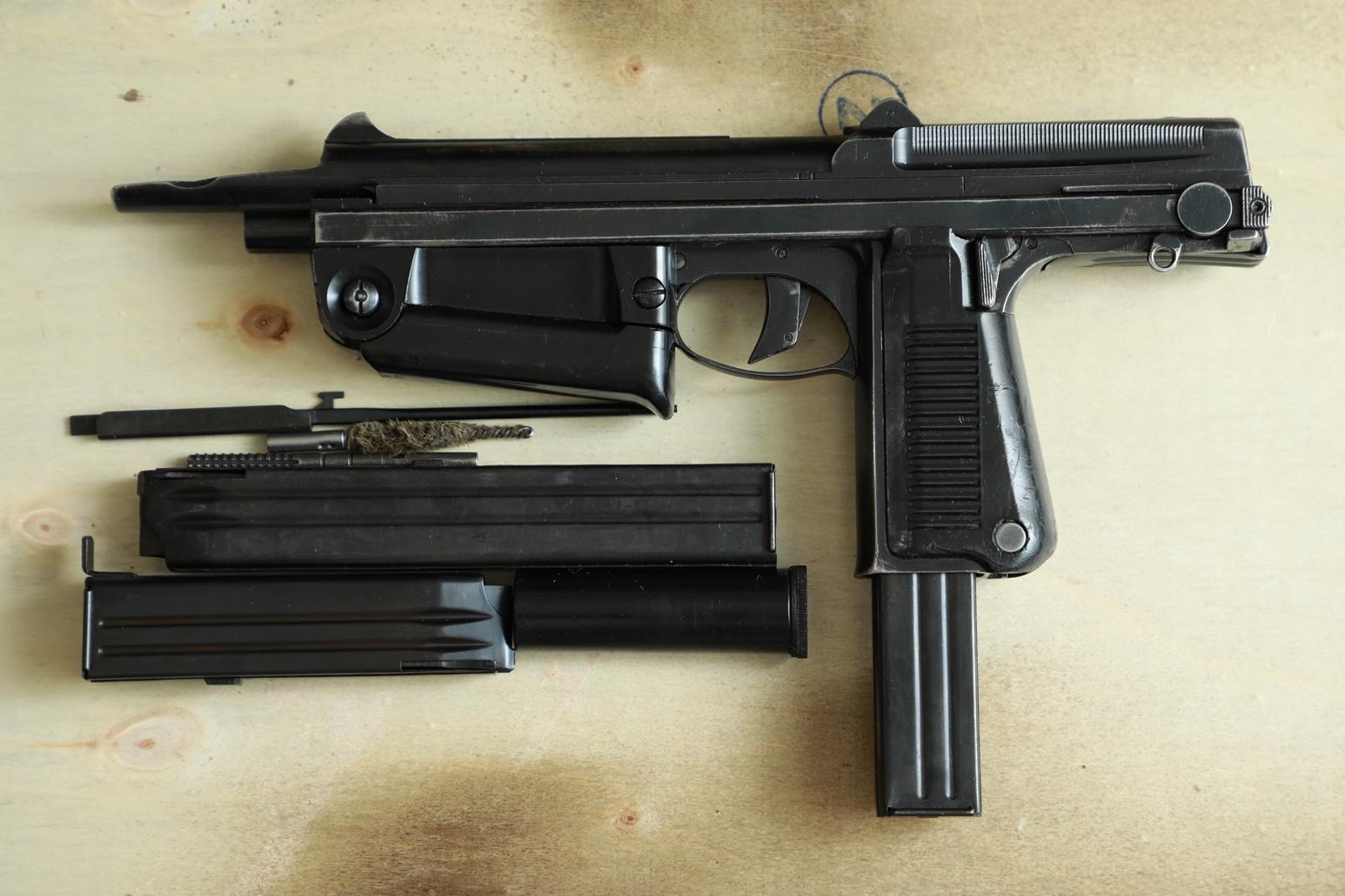 Охолощенный пистолет-пулемет RAK-63 #GG 1153 1972 год, 2 категория