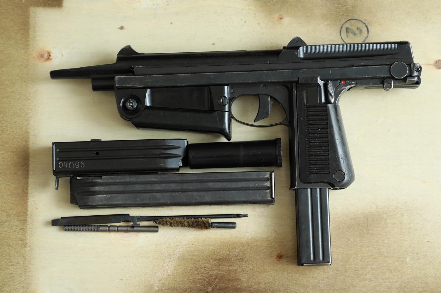 Охолощенный пистолет-пулемет RAK-63 #WR 4046 1972 год, 2 категория