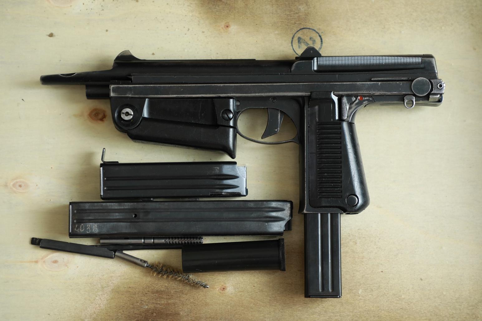 Охолощенный пистолет-пулемет RAK-63 #TM 02246 1970 год, 2 категория