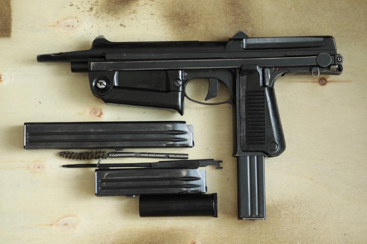 Охолощенный пистолет-пулемет RAK-63 #MO 01943 1970 год, 2 категория
