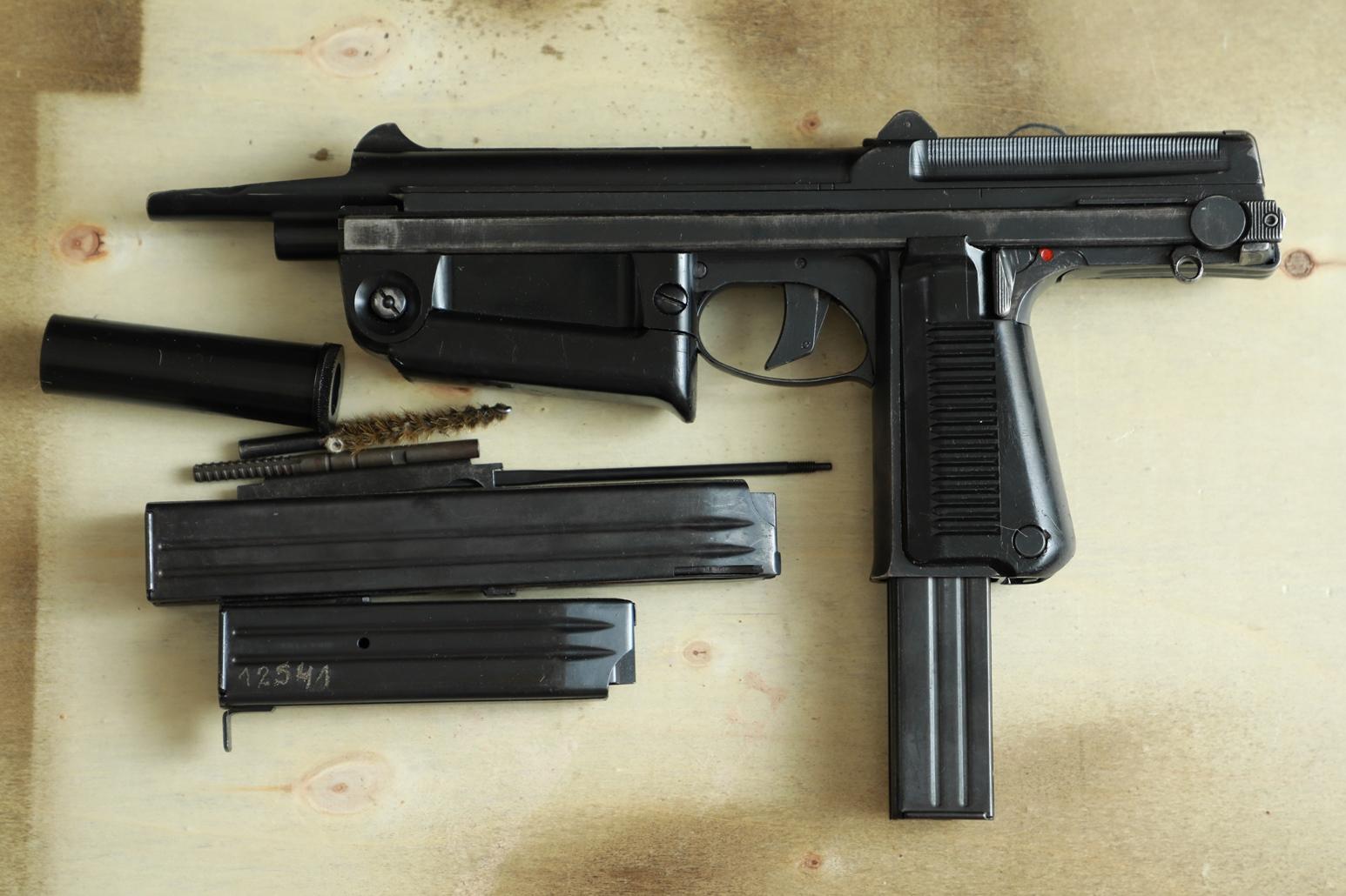 Охолощенный пистолет-пулемет RAK-63 #MO 01738 1970 год, 2 категория