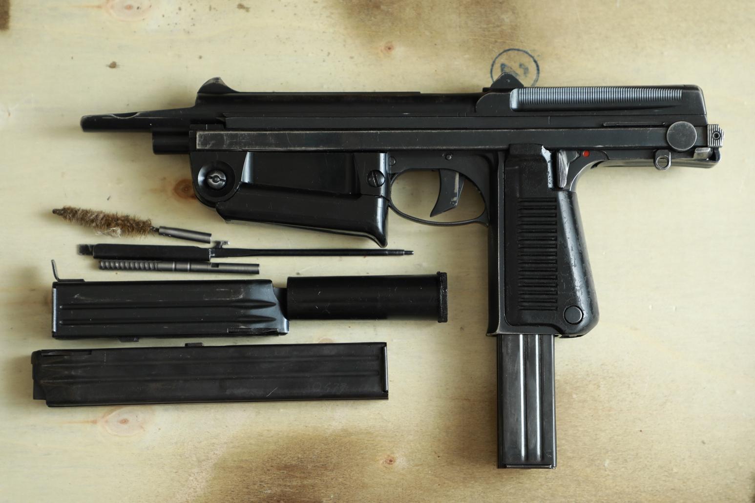 Охолощенный пистолет-пулемет RAK-63 #MO 08257 1970 год, 2 категория