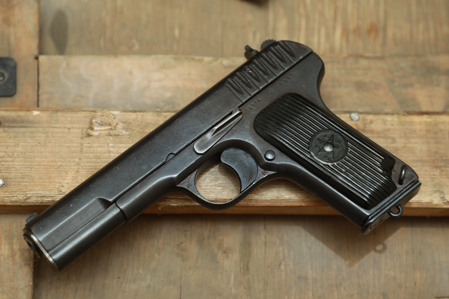 Фото Охолощенный пистолет ТТ 1937 года №29874