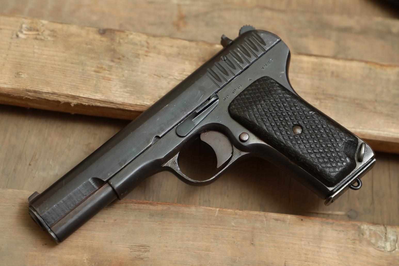 Фото Охолощенный пистолет ТТ 1942 года №ПР 1099