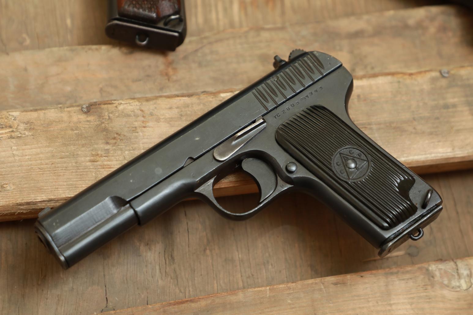 Фото Охолощенный пистолет ТТ 1943 года №ГС 2803