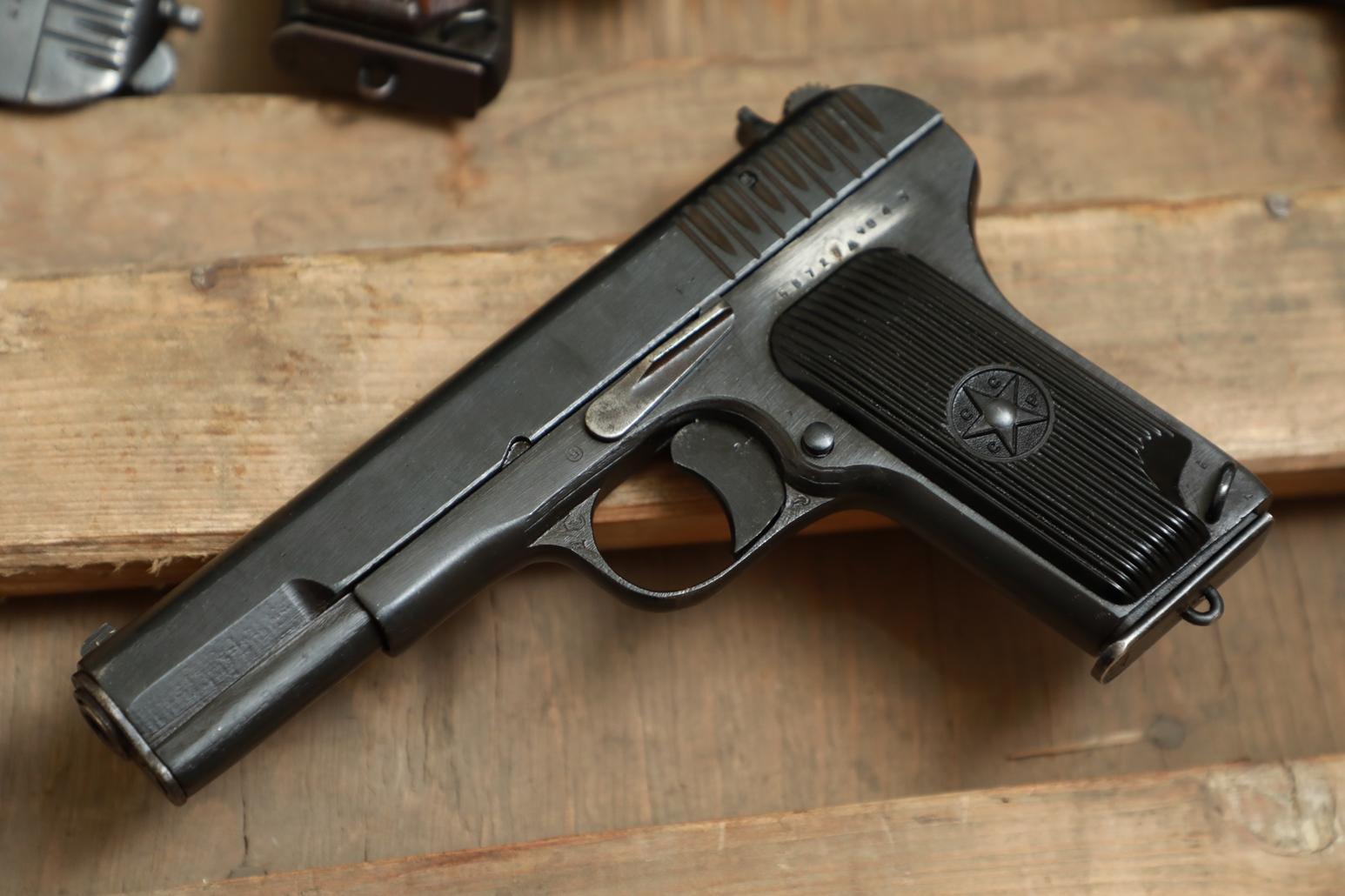 Фото Охолощенный пистолет ТТ 1943 года №БВ 726