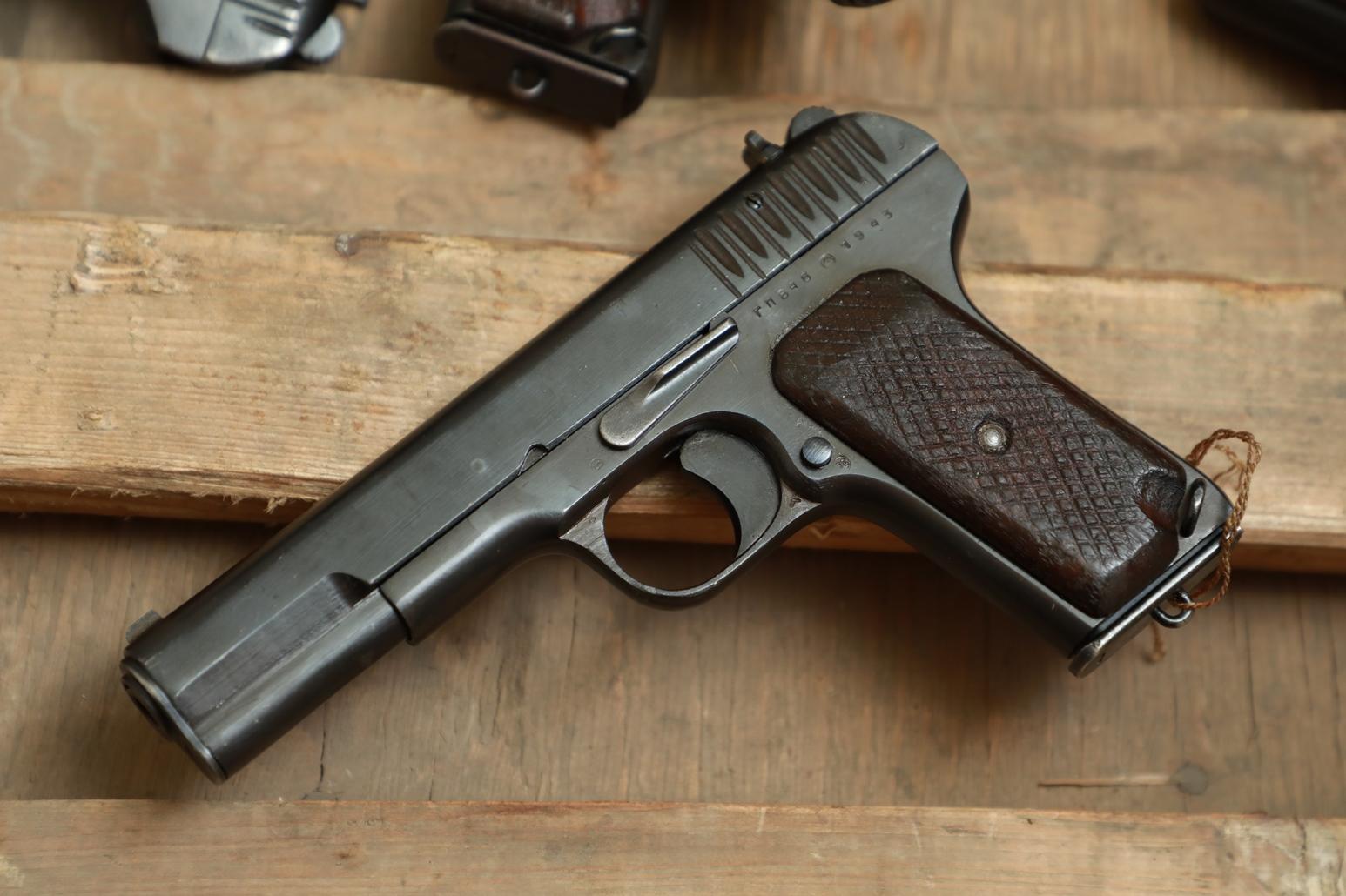 Охолощенный пистолет ТТ 1943 года №ГП 846