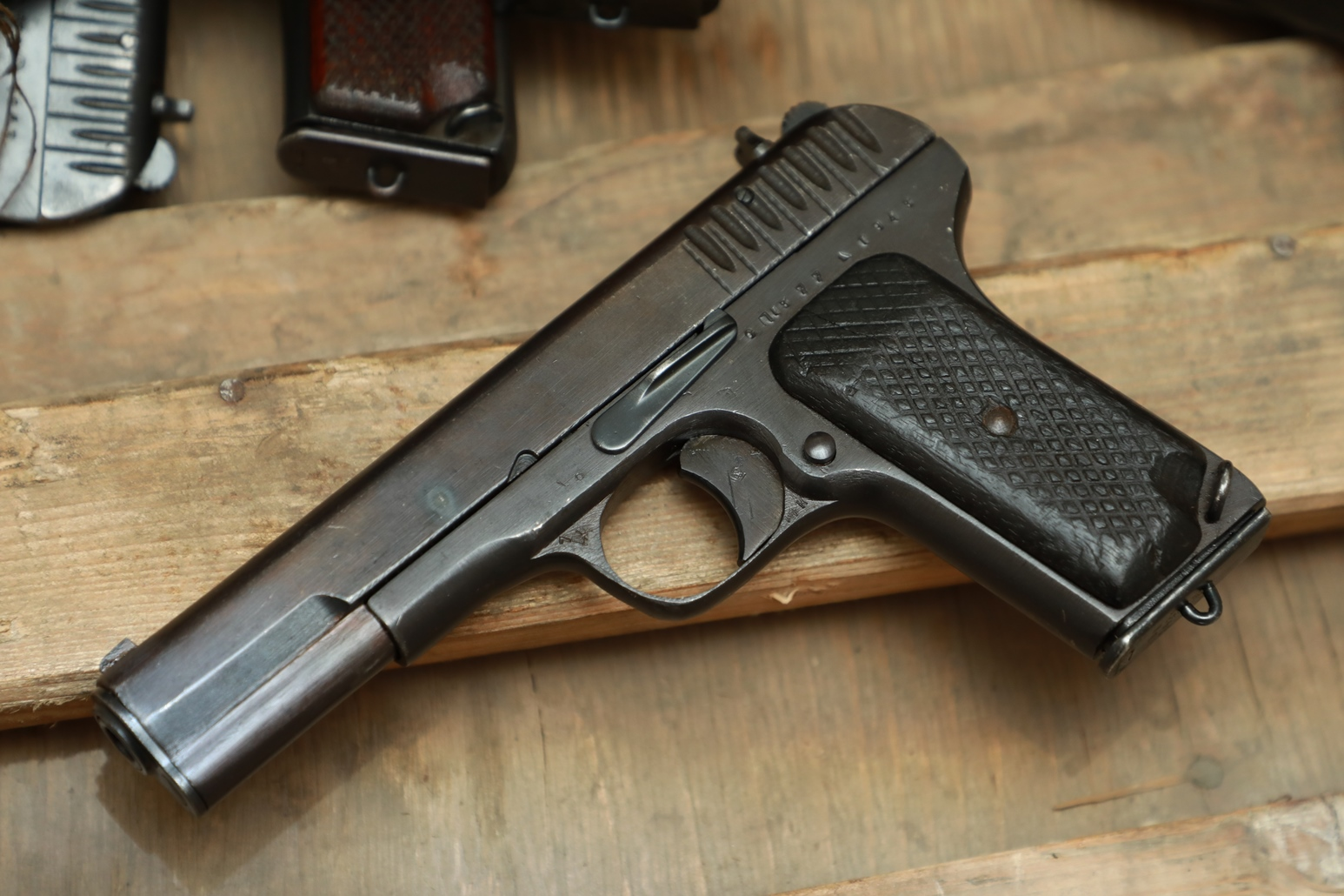 Фото Охолощенный пистолет ТТ 1943 года №СП 1377