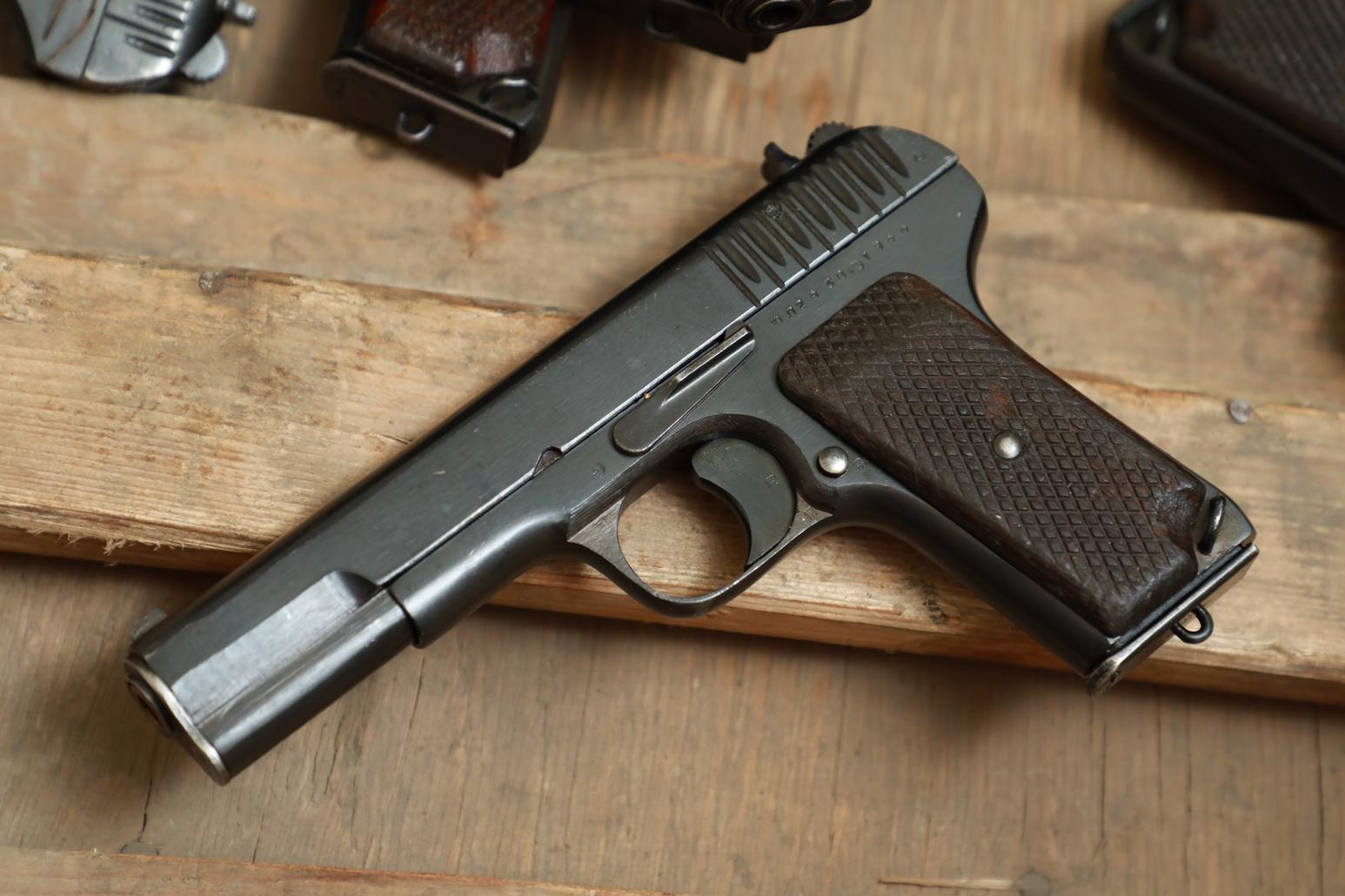 Охолощенный пистолет ТТ 1944 года №ЮЛ 2430