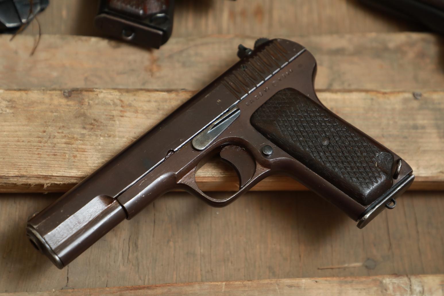 Фото Охолощенный пистолет ТТ 1944 года №ЕД 2614