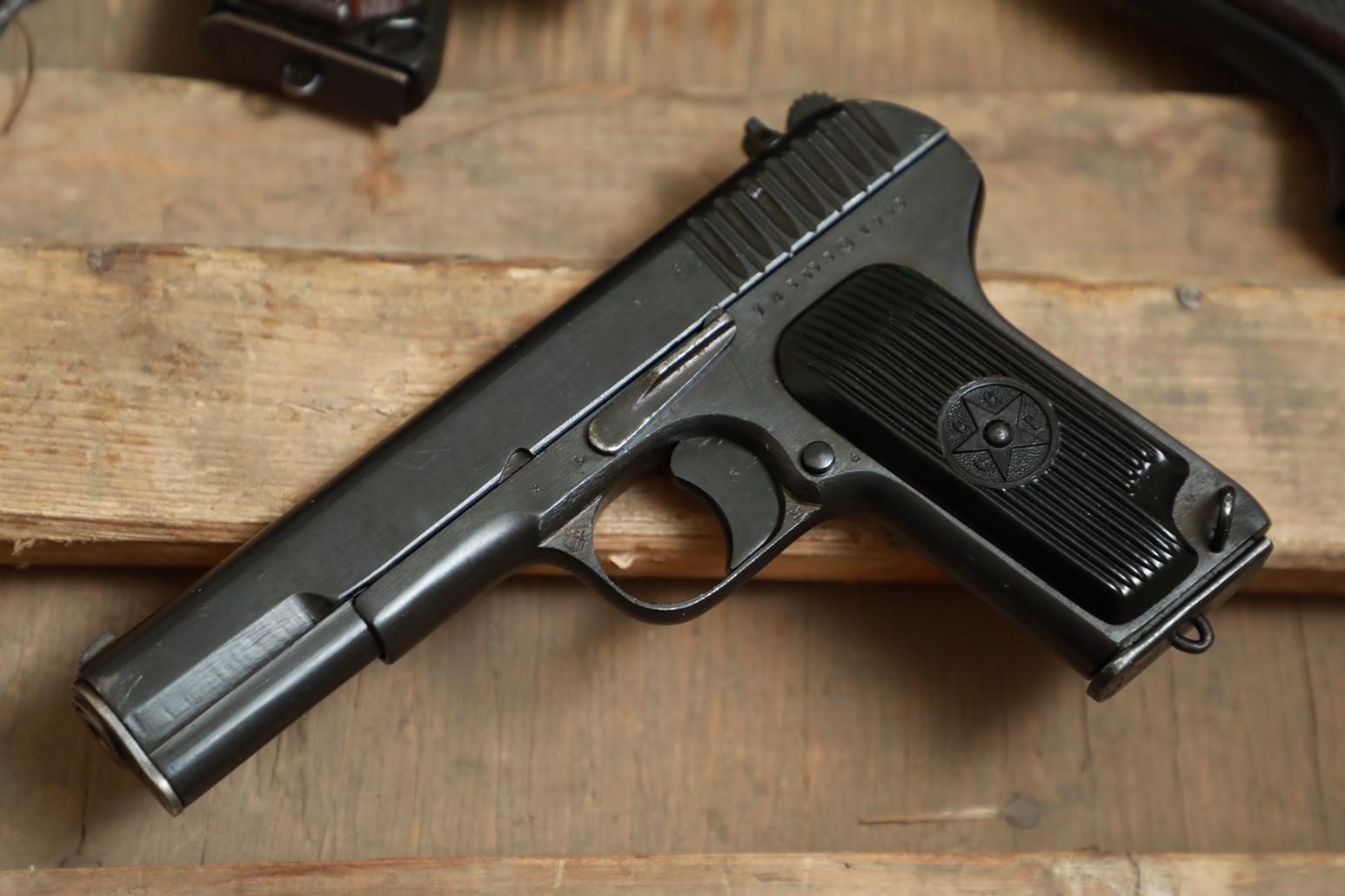 Фото Охолощенный пистолет ТТ 1945 года №ЭД 5355