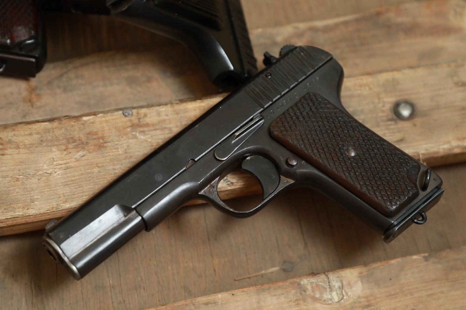 Охолощенный пистолет ТТ 1945 года №СВ 1094