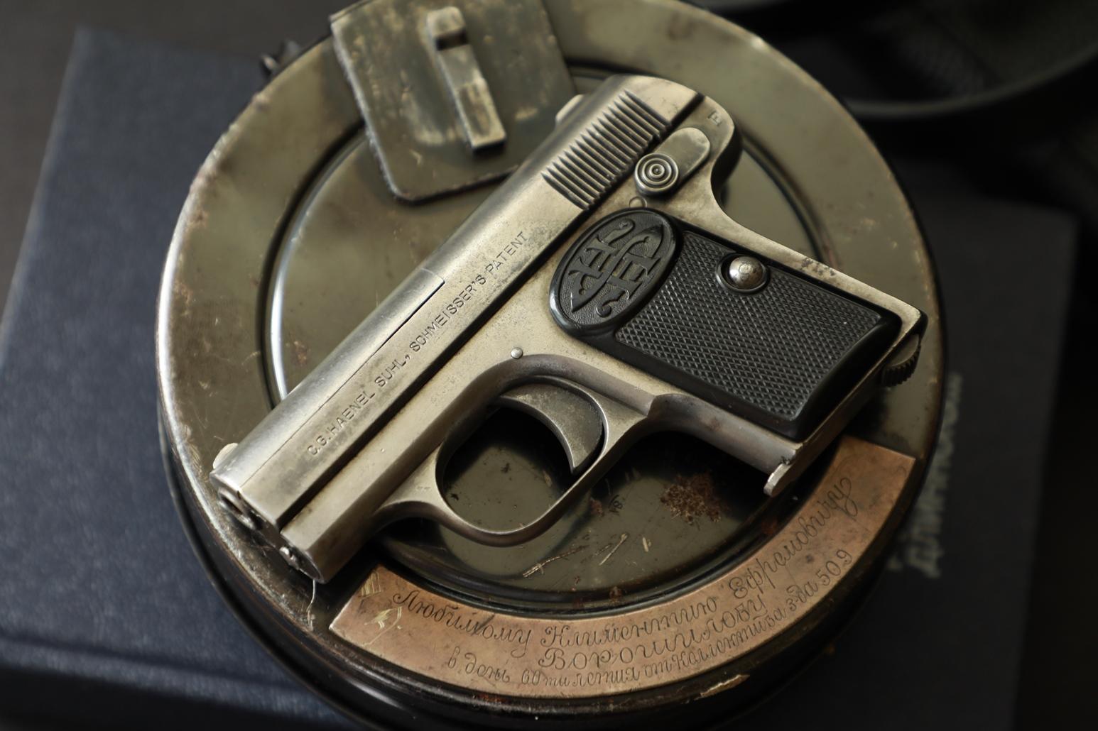 Жилетный пистолет Haenel SUHL-Shmeisser #67945