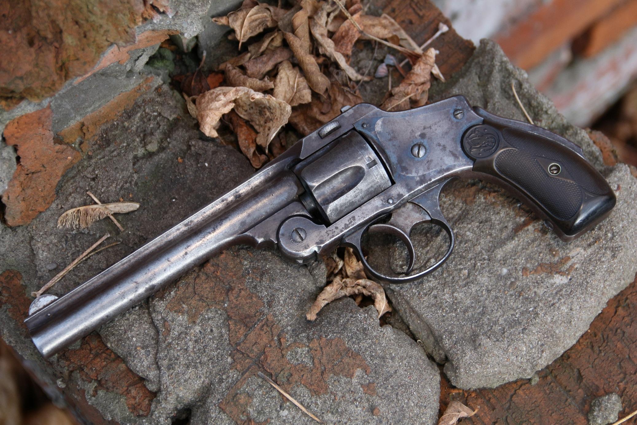 Фото Револьвер Smith Wesson, модель 1892 года, №4366