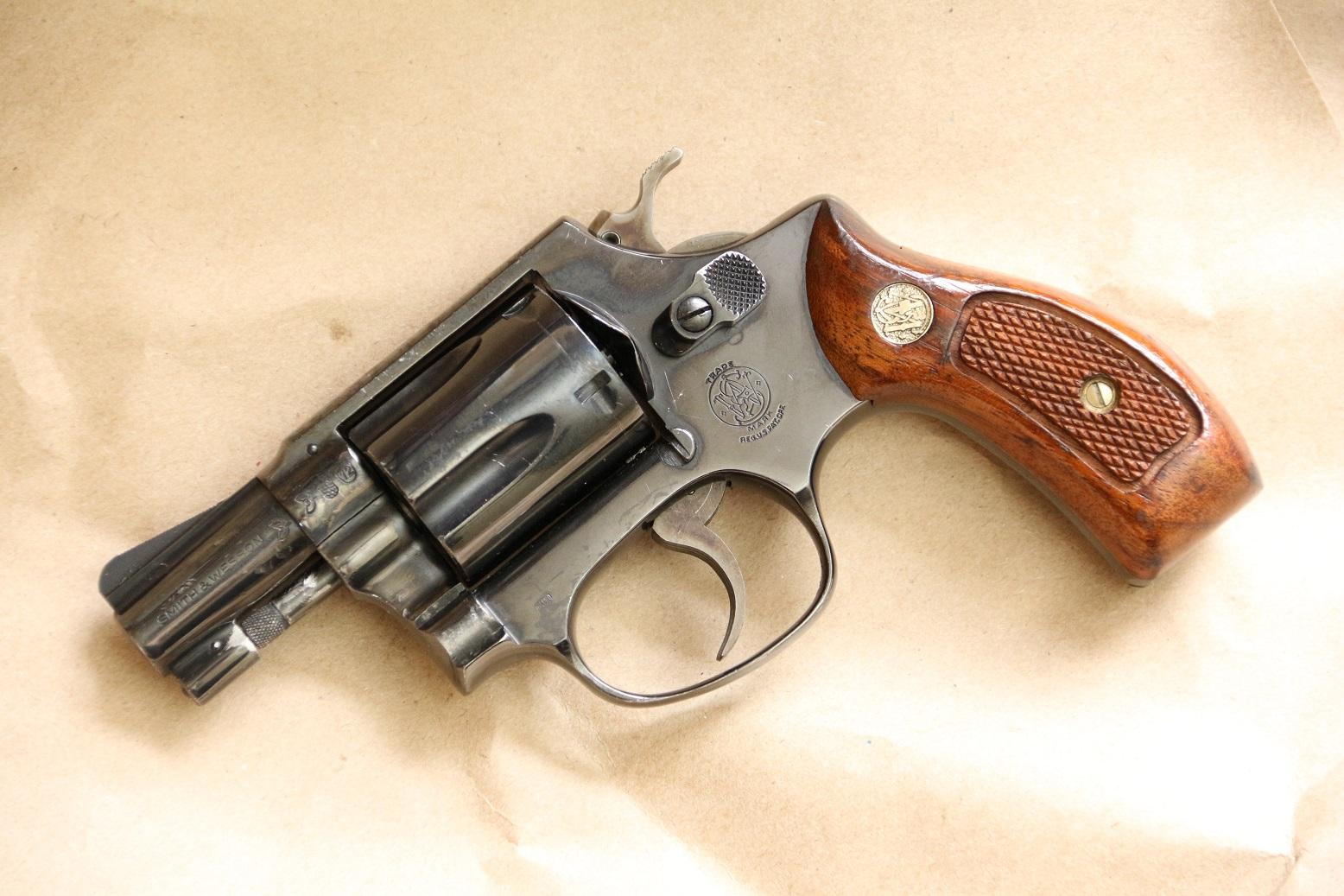 Фото Револьвер Smith Wesson model 38 S. #478J46