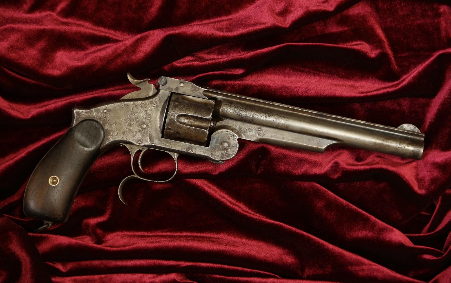 Смит Вессон №29715, русский заказ, 2 тип, чердачная находка