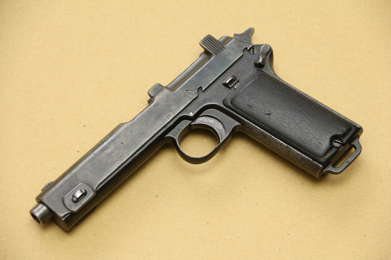 Фото Пистолет Steyr M1912, #8178u, 1917 год