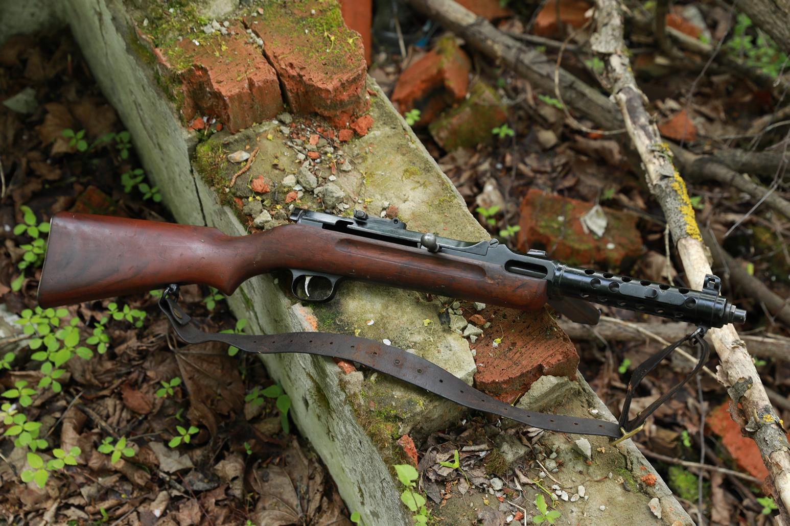 Пистолет-пулемет Steyr-Solothurn S1-100 / MP34 #2278