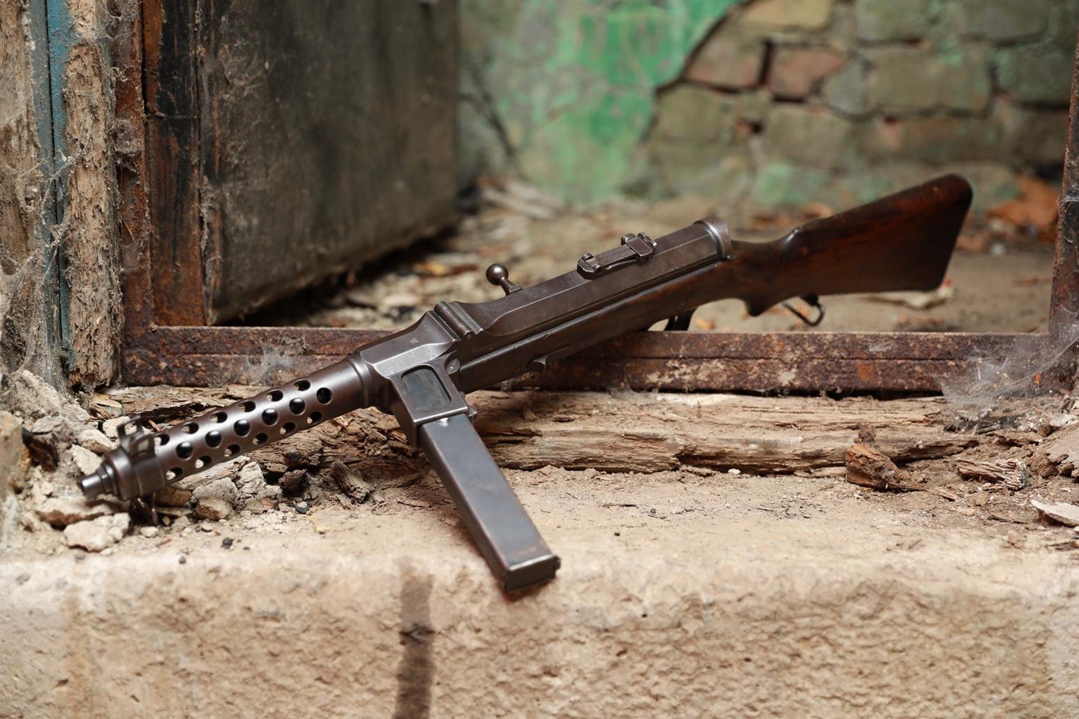 Фото Пистолет-пулемет Steyr-Solothurn S1-100 / MP34 #904