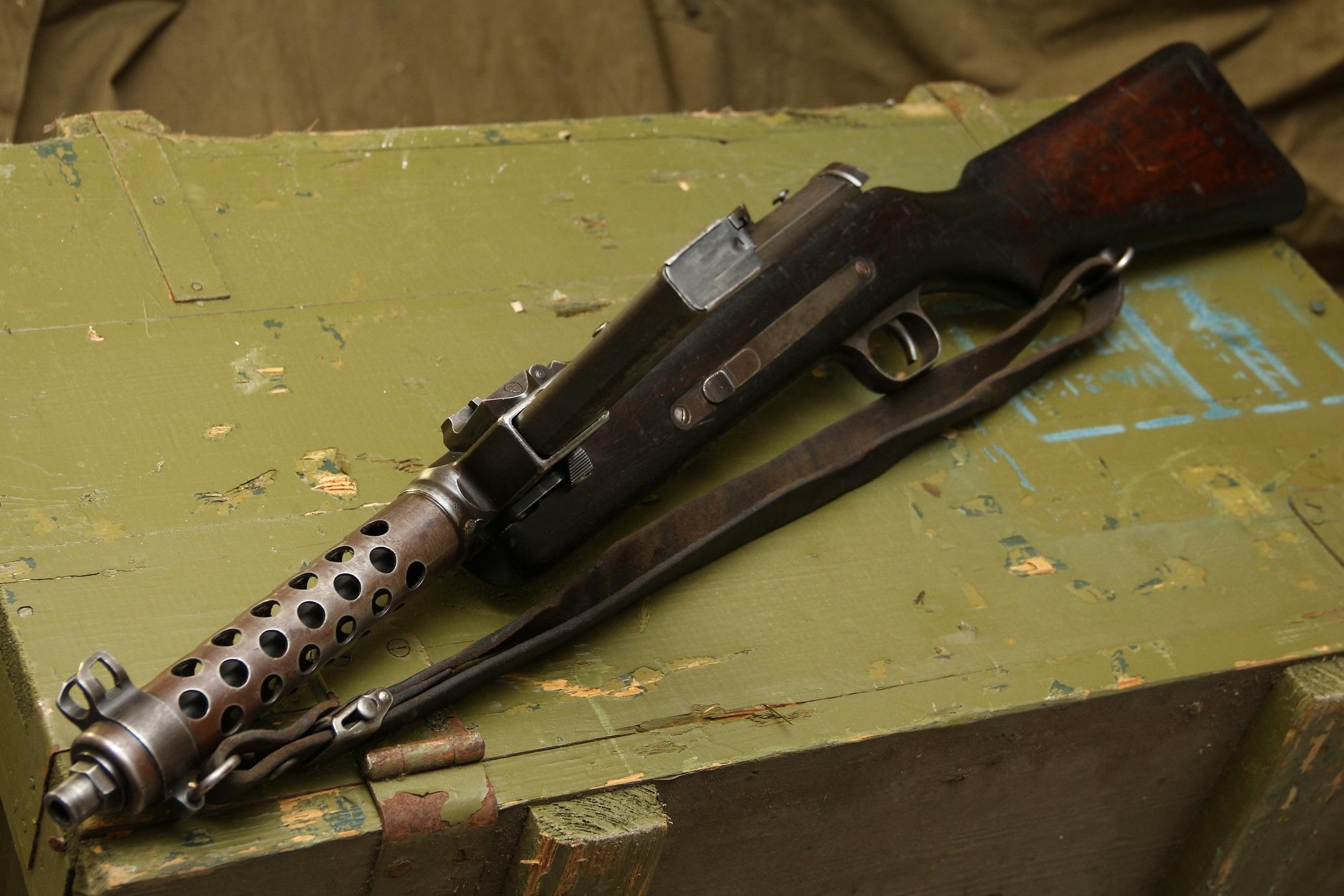 Фото Пистолет-пулемет Steyr-Solothurn S1-100 / MP34 #901, 1942 год, немецкая военная приемка