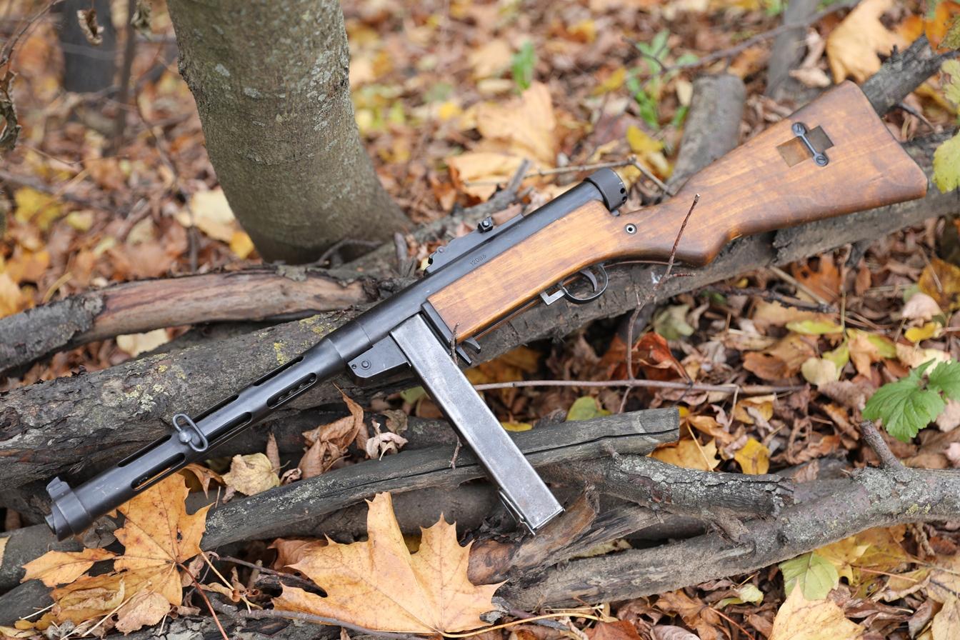 Финский пистолет-пулемет Suomi m.1931, #12083