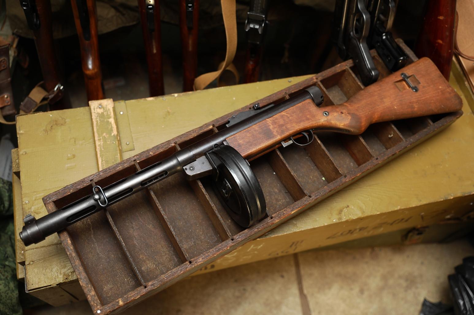 Фото Пистолет-пулемет Suomi-konepistooli M/31 #80261