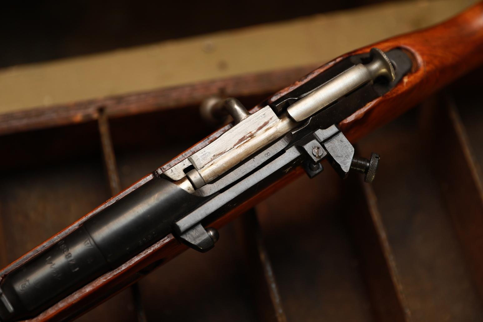 Фото Охолощенная винтовка Мосина СВМ 1944 года, №ГИ8360