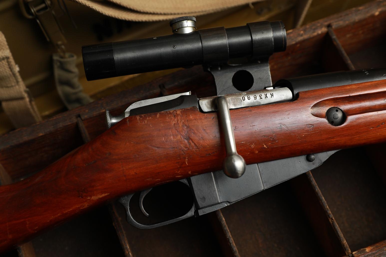 Охолощенная винтовка Мосина СВМ 1944 года, №КХ3680