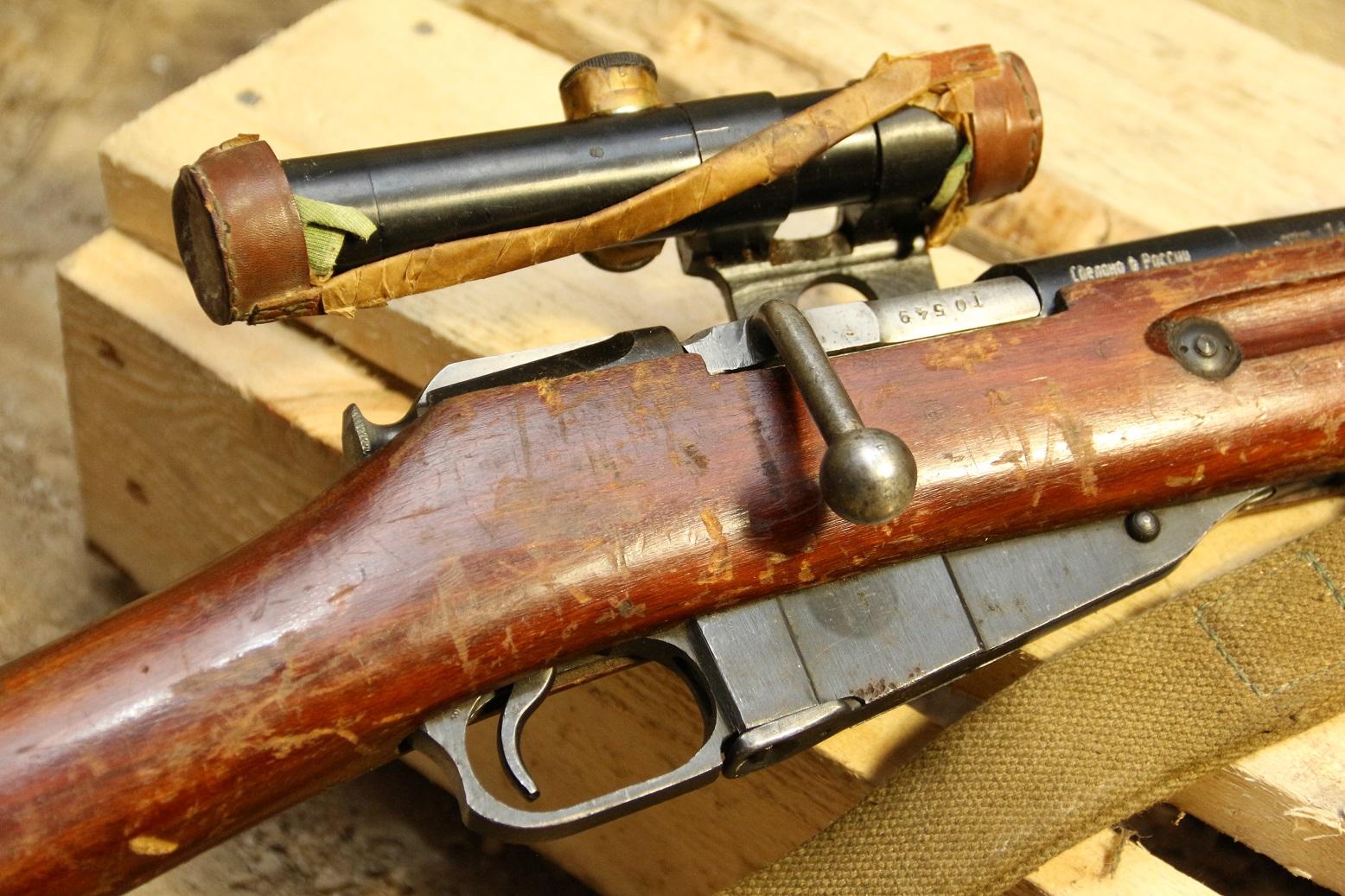 Фото Снайперская винтовка Мосина 1943 года №ТО549, редчайшее коллекционное состояние