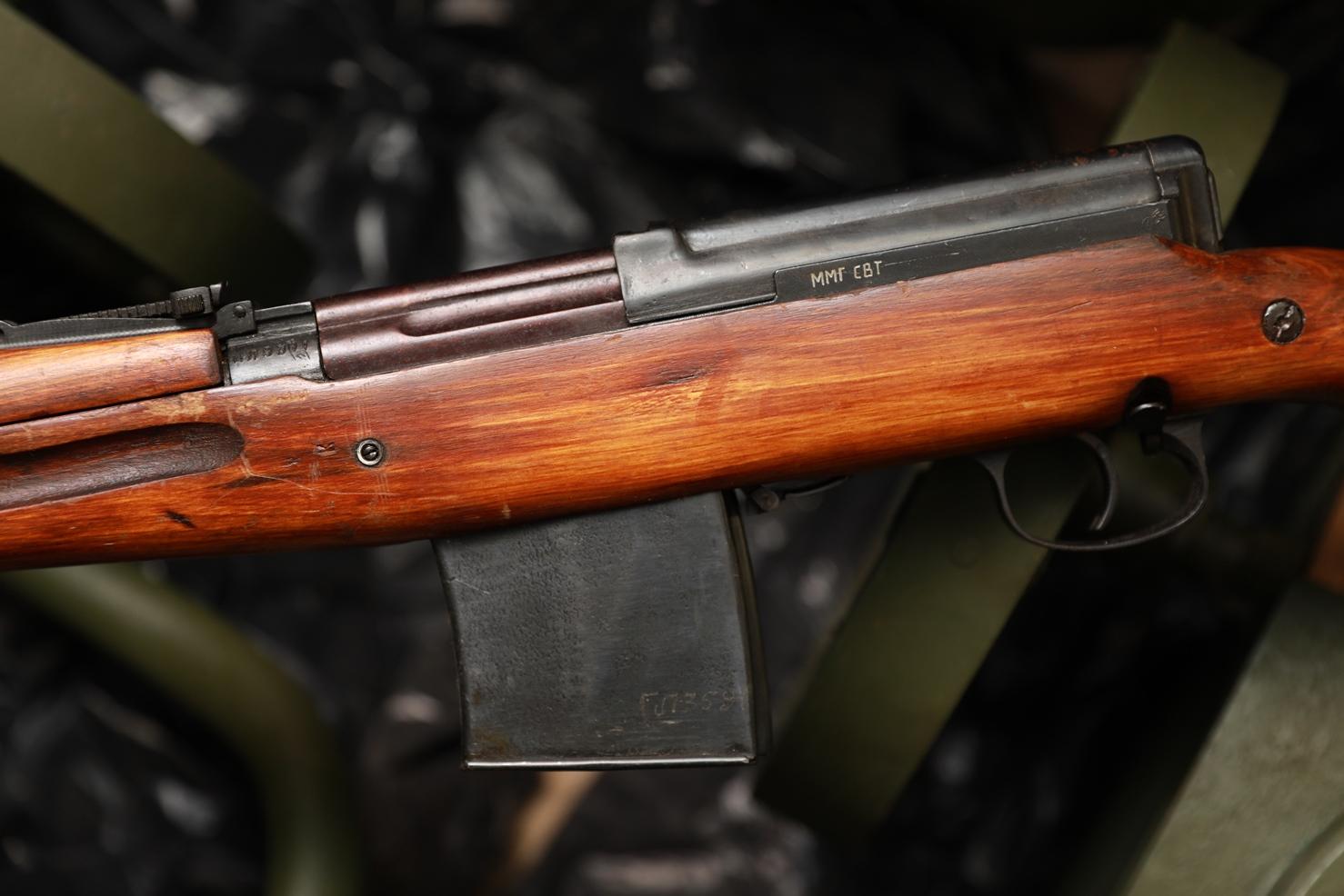 Фото Самозарядная винтовка Токарева СВТ-40 1943 года №МА8381