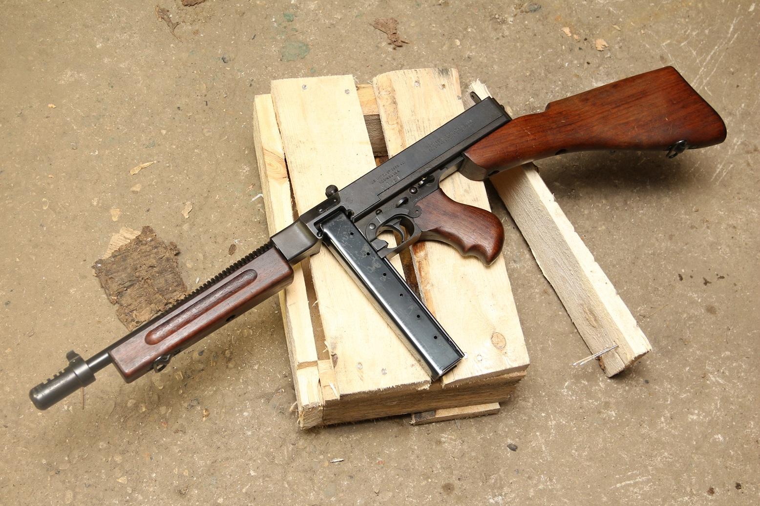 Пистолет-пулемет Томпсон 1982а1, #480184