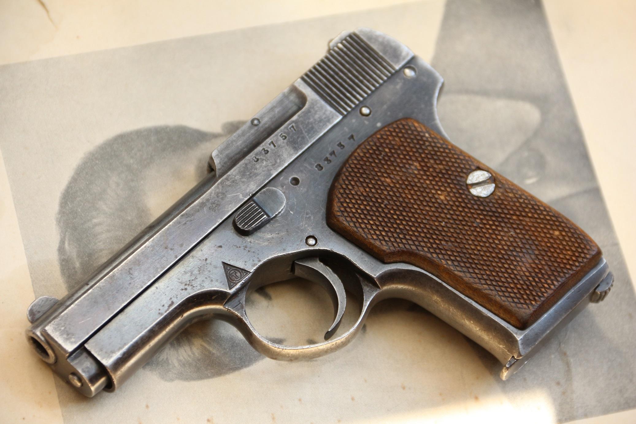 Фото Пистолет Тульский Коровин ТК №83757, ранний, образца 1926 года
