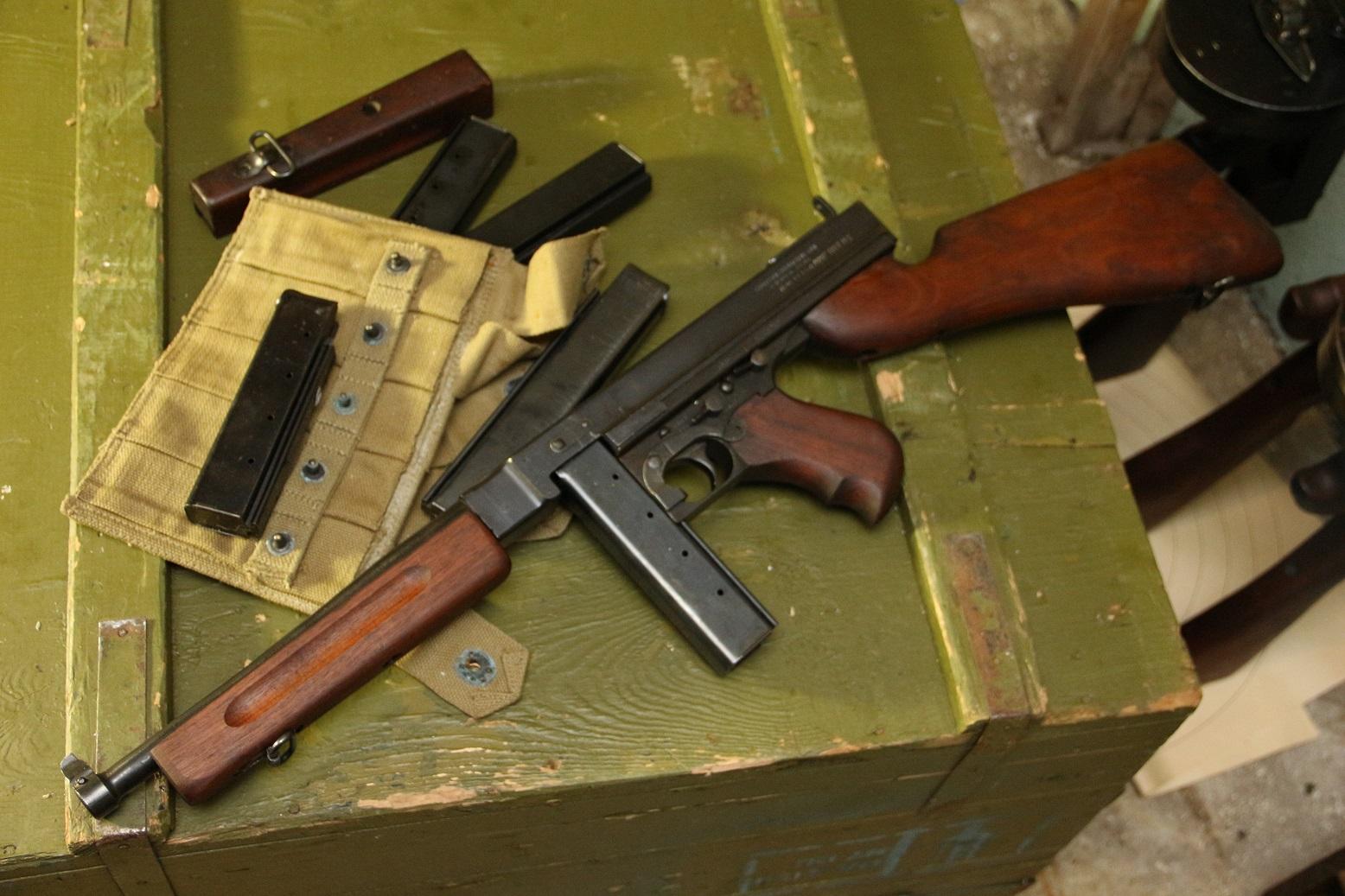 Пистолет-пулемет Томпсон М1 #19438