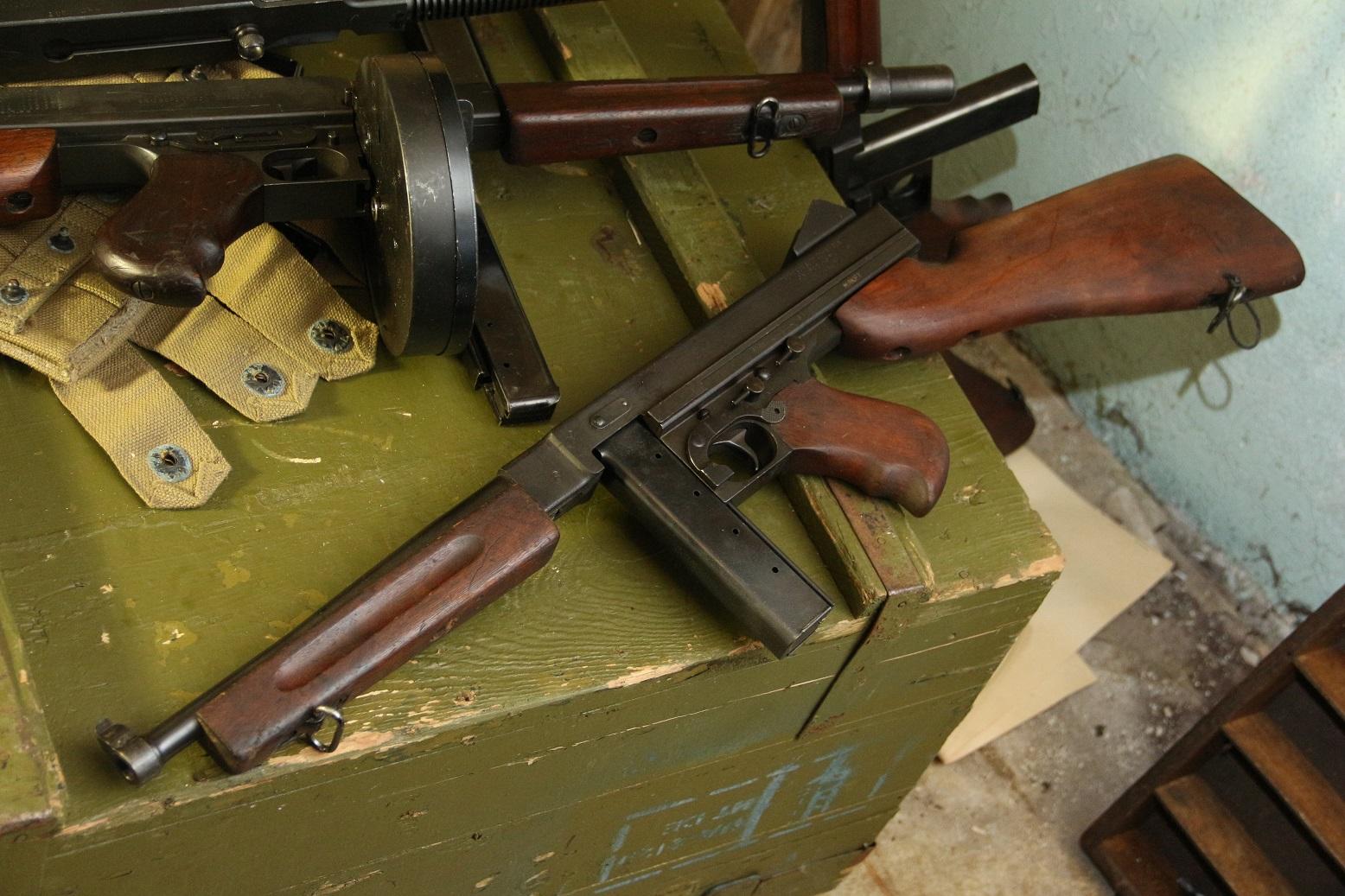Фото Пистолет-пулемет Томпсон М1 #156427