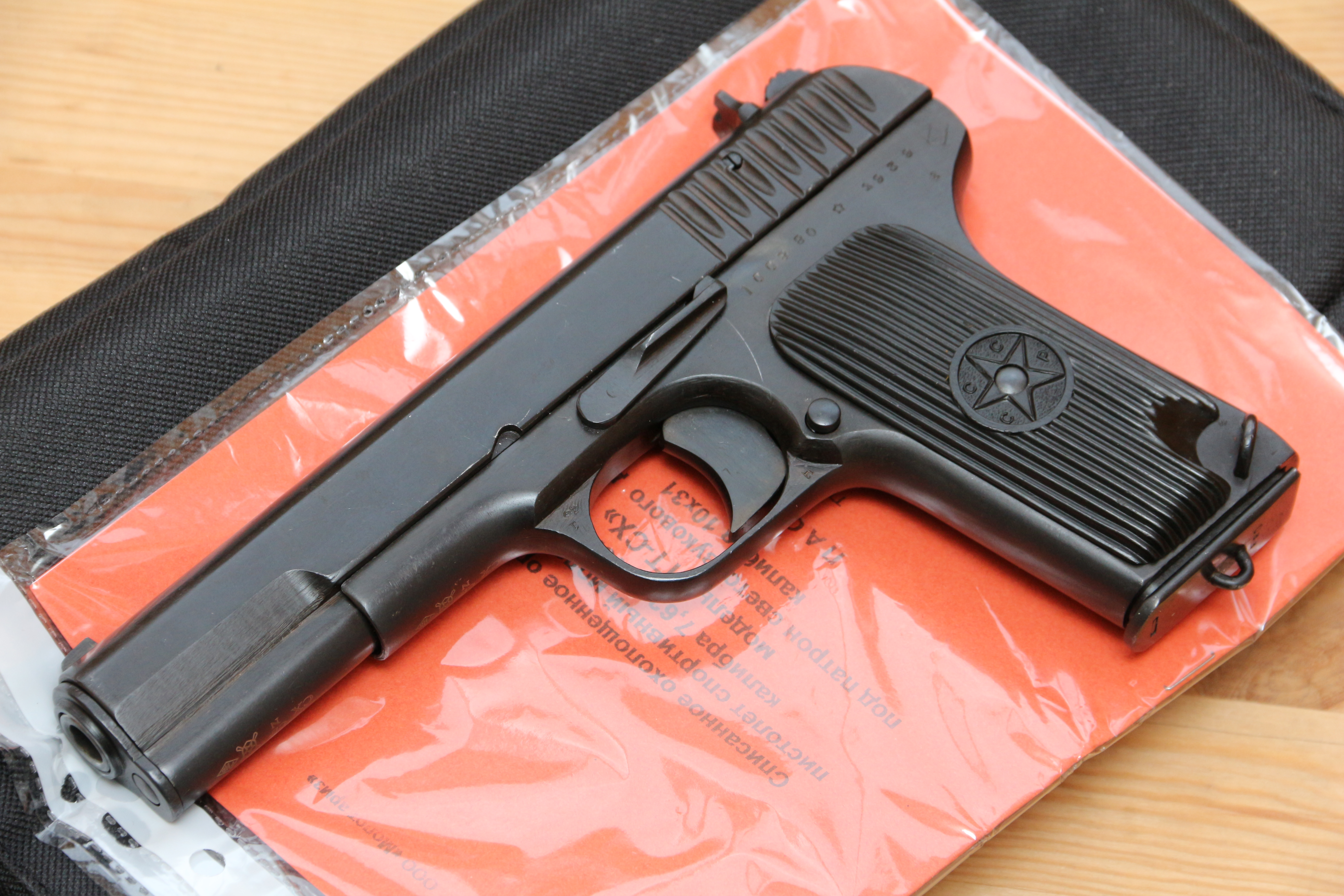 Фото Охолощенный пистолет ТТ-СХ 1939 года, №СС880