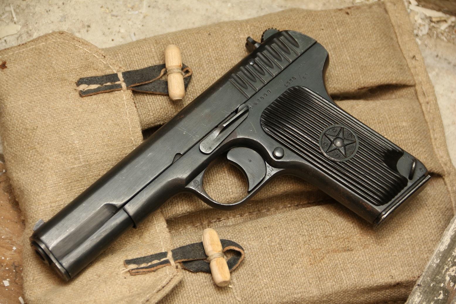 Фото Охолощенный пистолет ТТ-СХ 1935 года, №42508