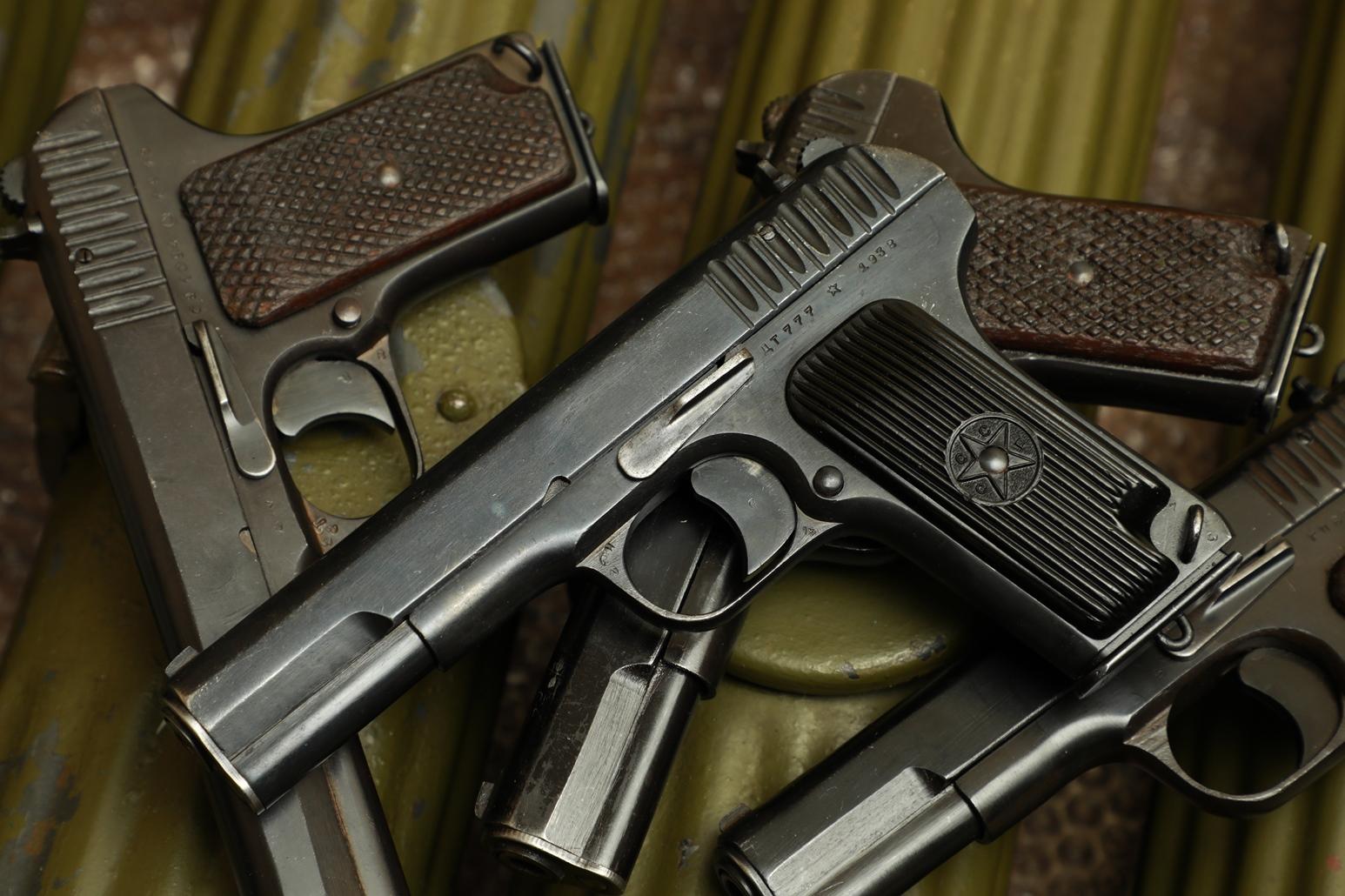 Фото Охолощенный пистолет ТТ 1938 года №ДТ 777, с дефектом