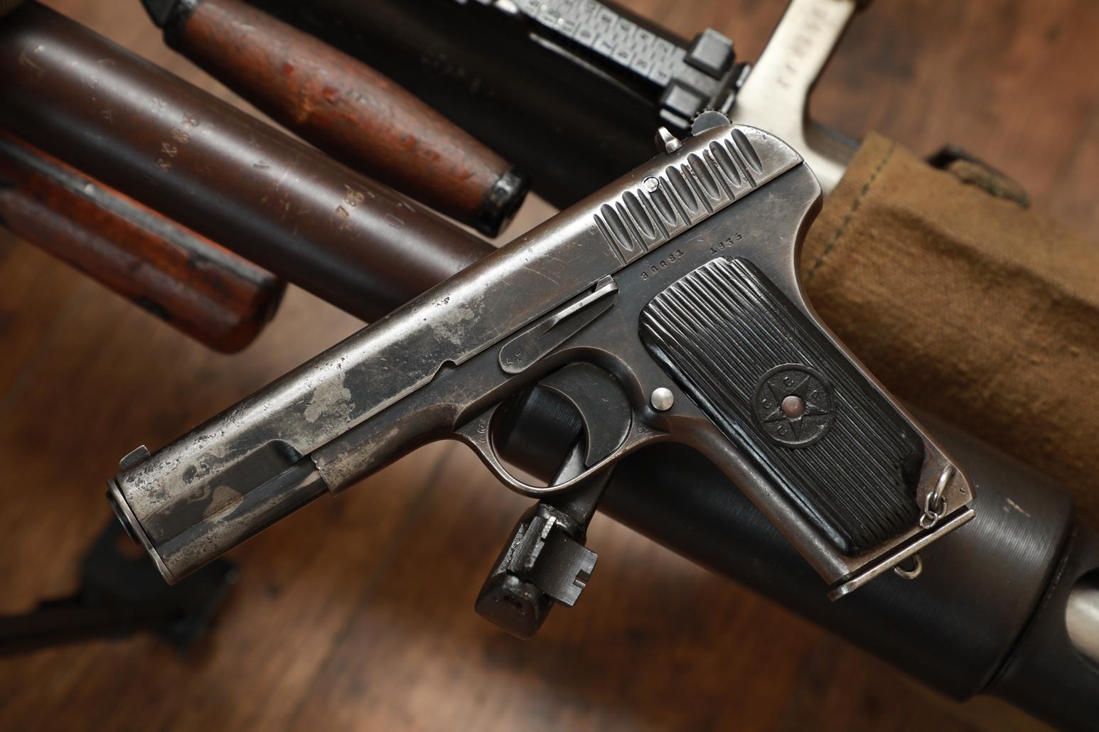 Охолощенный пистолет ТТ-30 1935 года №26681