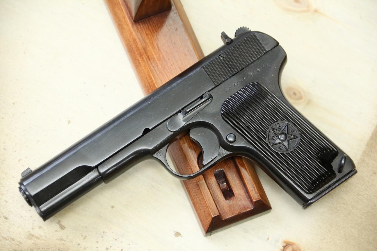 Фото Сигнальный пистолет ТТ-С 1947 года №ОП 2544