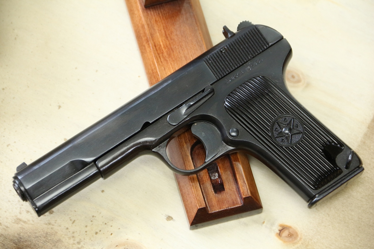 Фото Сигнальный пистолет ТТ-С 1950 года №ЦР 2540