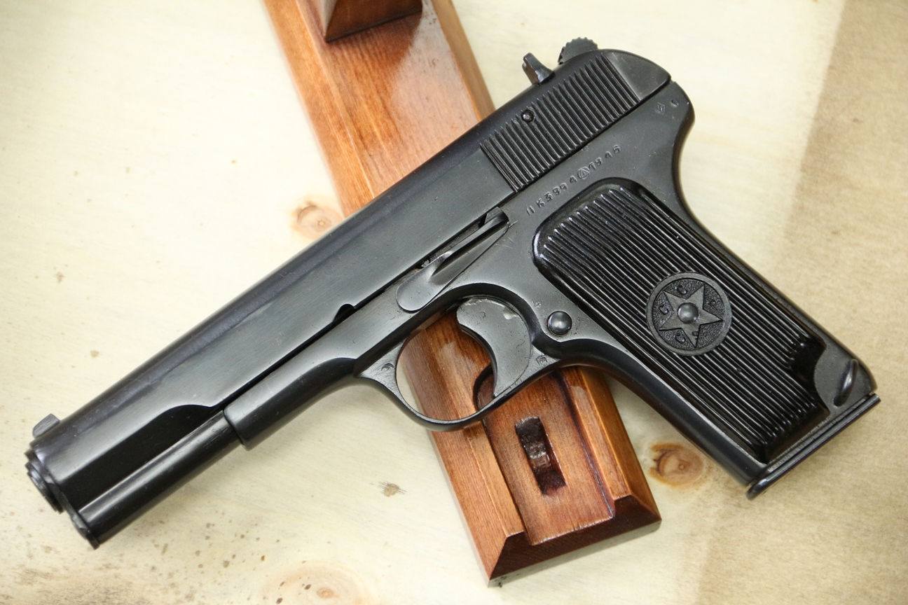 Фото Сигнальный пистолет ТТ-С 1946 года №ЛК 3994